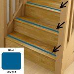 Blue Anti Slip Stairs Inserts