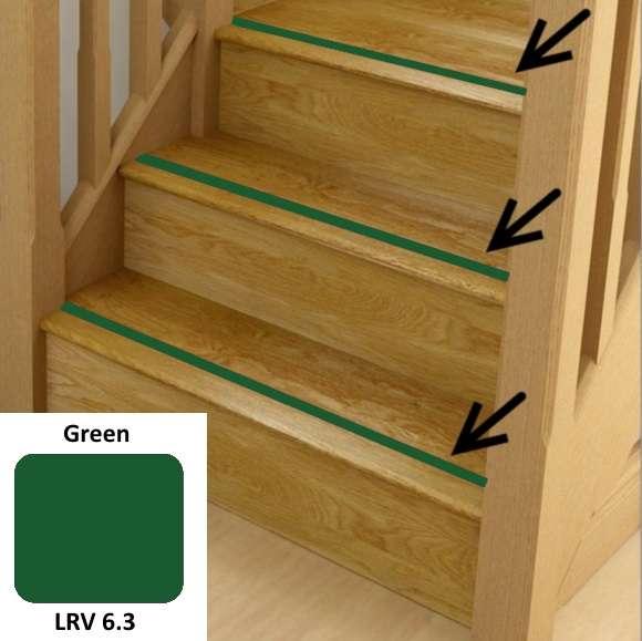 Green Anti Slip Stairs Inserts