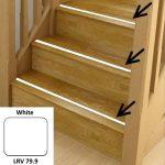 White Anti Slip Stairs Inserts