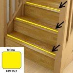 Yellow Anti Slip Stairs Inserts