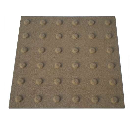 Tactile paving GRP inline