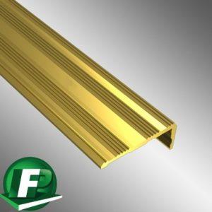 Matwell edge flooring profile undrilled gold